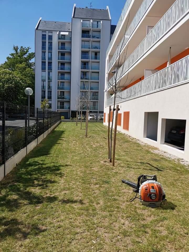 Entretien espaces verts copropriété