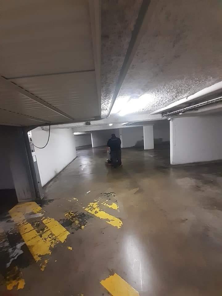 nettoyage parking souterrain
